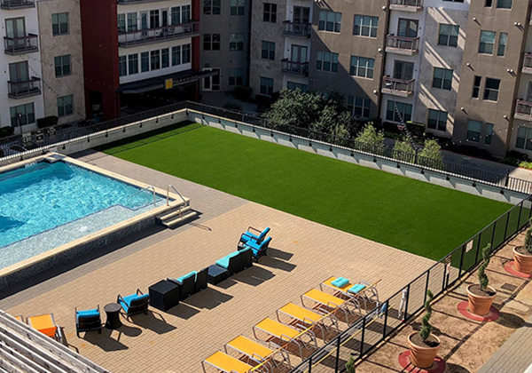 Synthetic Grass Installations for Commercial Properties