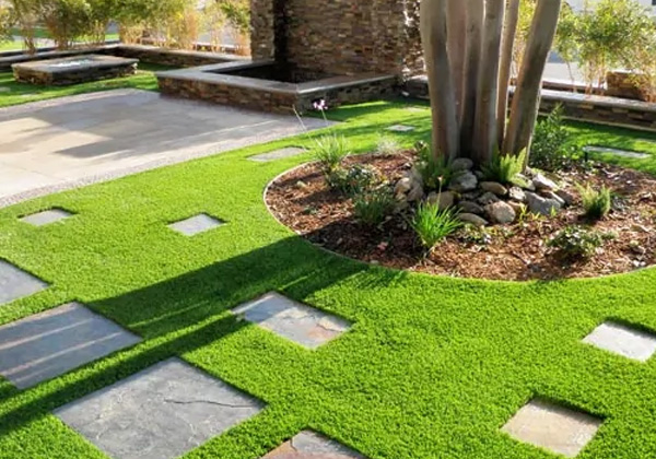 Is artificial grass too hot in the summer